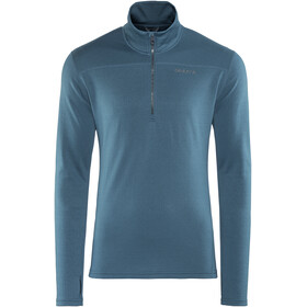 Craft Pin Halfzip Men fjord/gravel